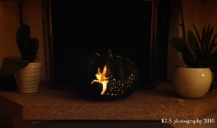 My Pumpkin Carving Of Tinkerbell